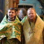 протоиерей Димитрий Гарчук с тезоименитым Преосвященным Ионой,епископом Обуховским