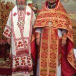 21. протоиерей Димитрий Гарчук с архиепископом Яготинским Серафимом