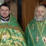 протоиерей Димитрий Гарчук с Преосвященным Кассианом,епископом Иванковским