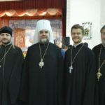 15 протоієрей Димитрій Гарчук з митрополитом Симеоном, священиком Назарієм Давидовським та протоієреєм Агафангелом Давидовським