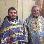 8 протоієрей Димитрій Гарчук з митрополитом Вінницьким і Барським Симеоном