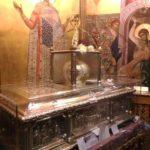 3 рака с честными мощами великомученика Димитрия Мироточивого Солунского